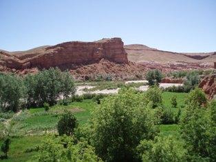 La Vallée des Roses au Maroc